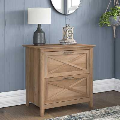 Cyra 2-Drawer Lateral Filing Cabinet - Wayfair