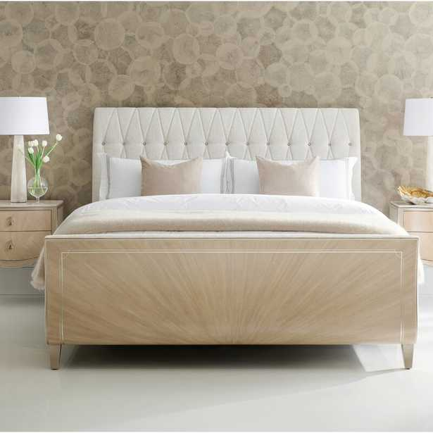 Caracole Classic Diamond Jubilee Upholstered Sleigh Bed Size: California King - Perigold