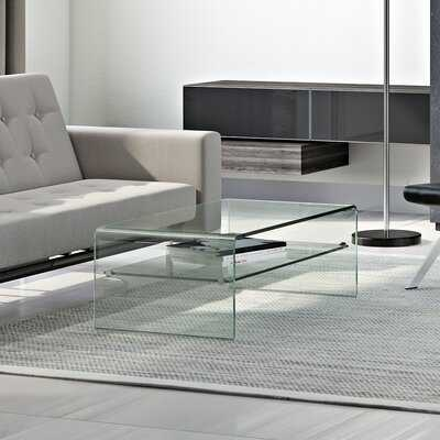 Glass Coffee Table - Wayfair
