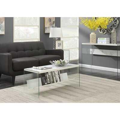 Calorafield Sled Coffee Table With Storage - Wayfair