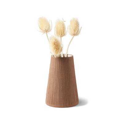 Hamley Brown Indoor / Outdoor Terracotta Table Vase - Wayfair