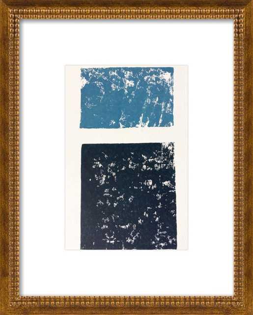 Shades of blue ocean by Stacy Rajab for Artfully Walls - Artfully Walls