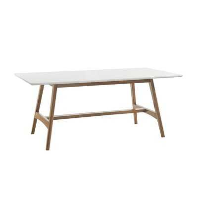 Barfield Solid Wood Dining Table - Wayfair