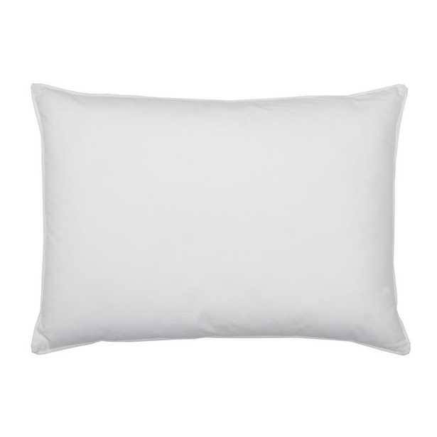 Company Cotton White Down Jumbo Decorative Pillow Insert, 16 in. x 24 in. - Home Depot