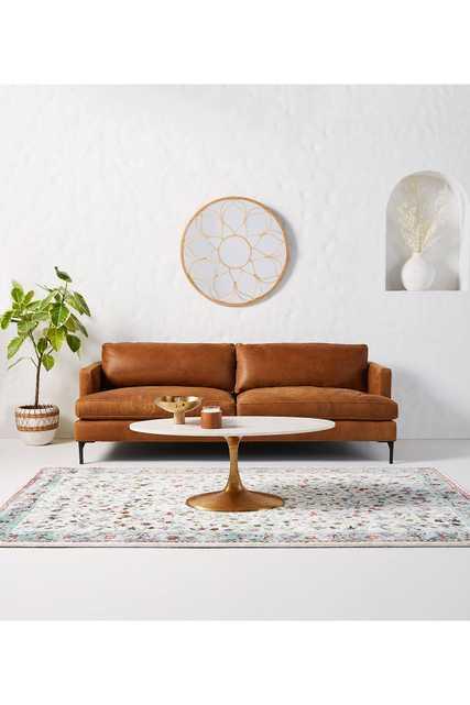 Bowen Leather Sofa - Anthropologie