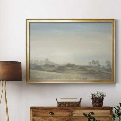 Waves Of Grain - Picture Frame Print on Canvas - Wayfair