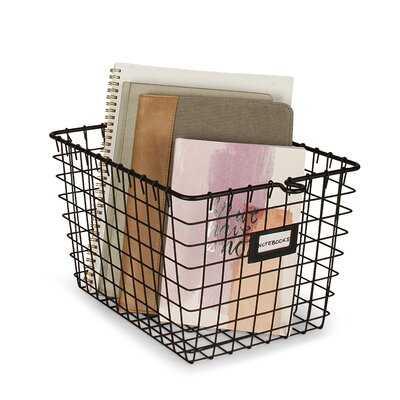 Metal/Wire Basket - Wayfair