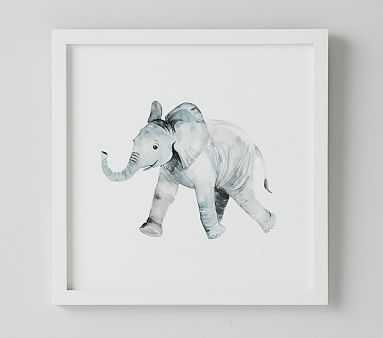 Elephant Nursery Animal Art - Pottery Barn Kids