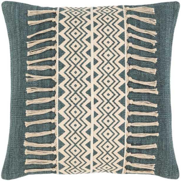 "Lilyana Pillow Cover, 20""x 20"", Sage - Roam Common"