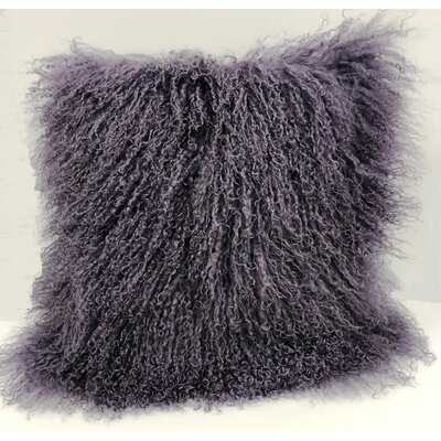 Square Faux Fur Pillow Cover and Insert - Wayfair