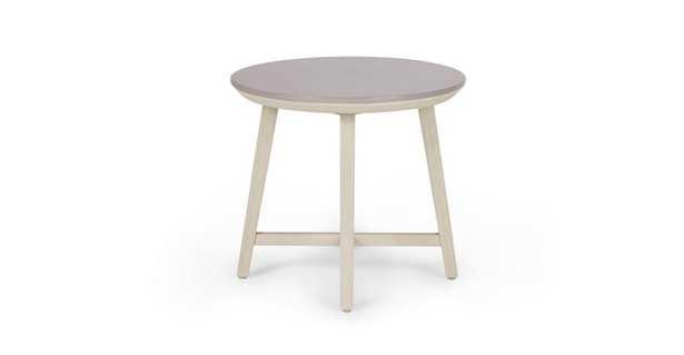 Olen Washed Oak Side Table - Article