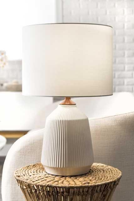 "Renton 24"" Ceramic Table Lamp - Loom 23"