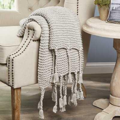 Gulick Knit Cotton Throw - Birch Lane