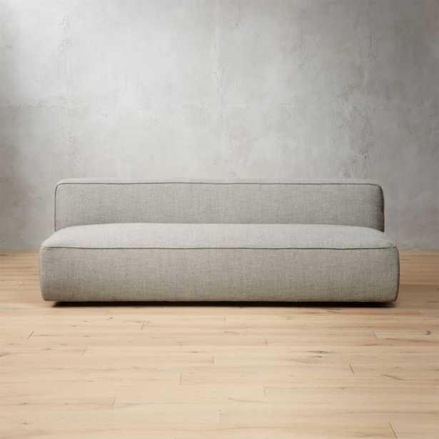 Lenyx Stone Armless Sofa - CB2