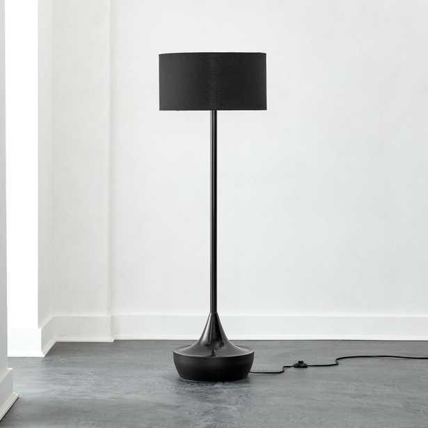 Atlas Black Floor Lamp - CB2