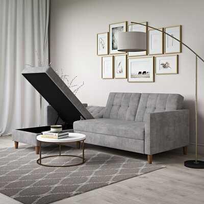 "Kayden 84"" Wide Reversible Sleeper Sofa & Chaise - Wayfair"