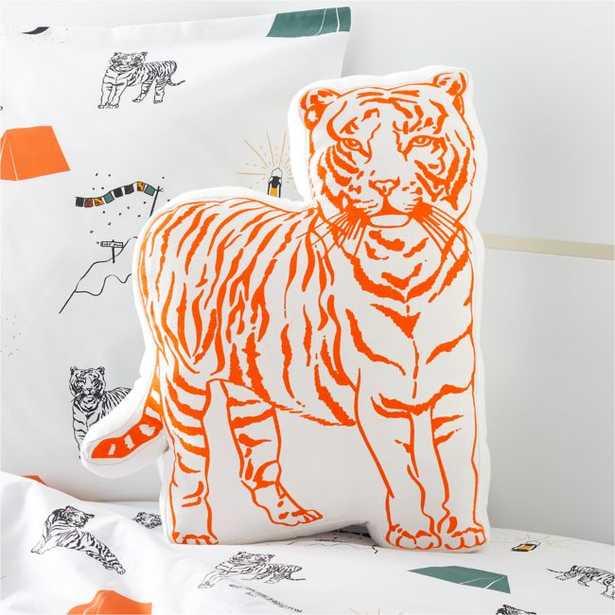 Basecamp Tiger Pillow - Crate and Barrel