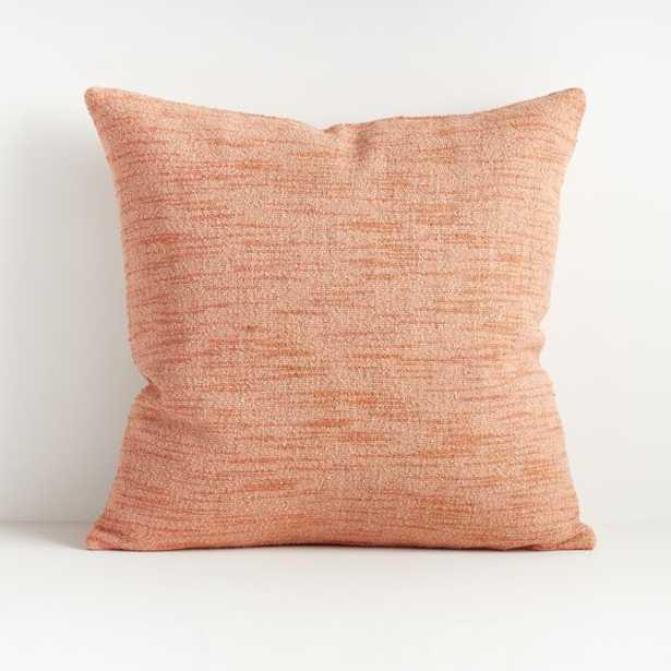 "Emi Blush Throw Pillow 20"" - Crate and Barrel"