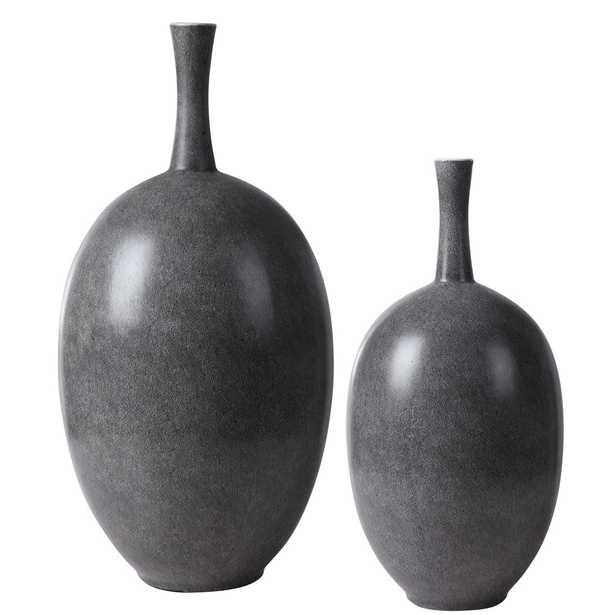 Riordan Modern Vases, Set of 2 - Hudsonhill Foundry