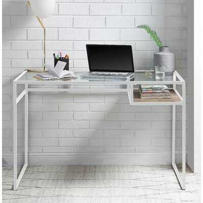 Stak Reversible Glass Desk - Wayfair