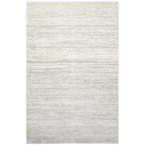 Adirondack Ivory/Silver 5 ft. x 8 ft. Area Rug - Home Depot