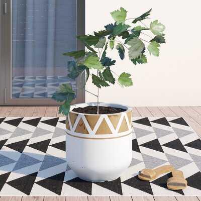 Bellavia Handcrafted Fiber Clay Pot Planter - AllModern