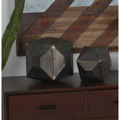 Cumbria Metal Table Decor 2 Piece Sculpture Set - Wayfair
