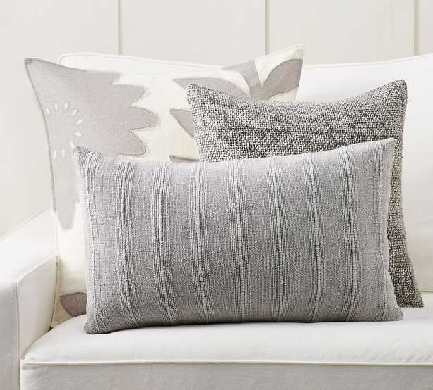 Cool Breeze Gray Pillow Cover Set - Pottery Barn