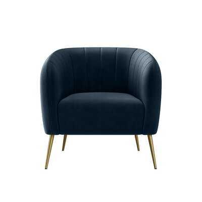 Dany 28'' W Tufted Barrel Chair RESTOCK  May 10, 2021. - Wayfair