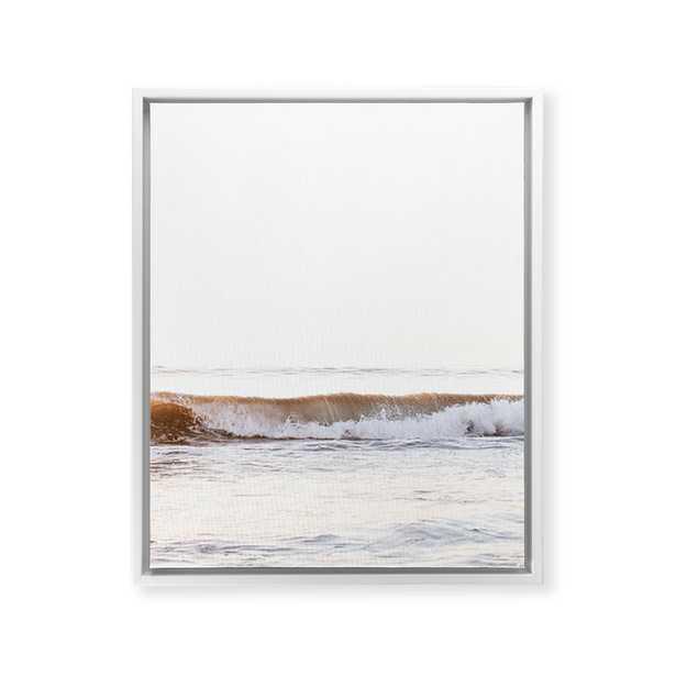 "Minimalist Wave by Bree Madden - Art Canvas 24"" x 30"" - Wander Print Co."