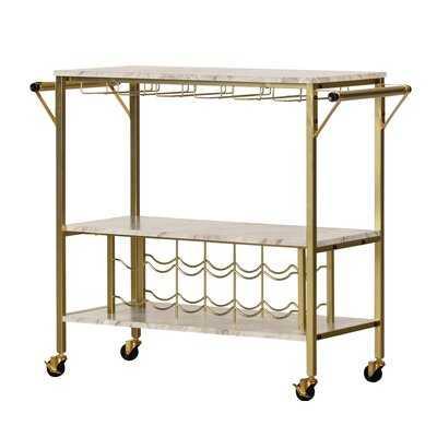 Maliza Bar Cart - AllModern