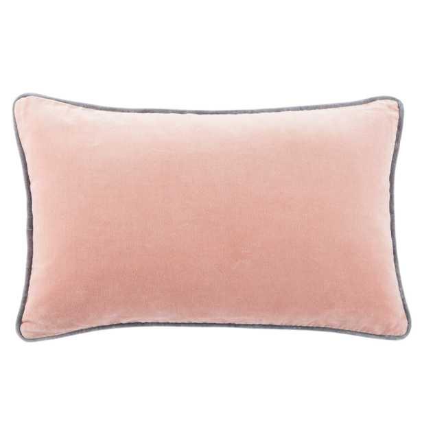 "Design (US) Blush 13""X21"" Pillow Indoor - Collective Weavers"