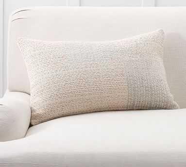 "Mali Lumbar Pillow Cover, 16 x 26"", Blush Multi - Pottery Barn"