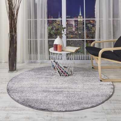 Belden Abstract Gray Area Rug - Wayfair