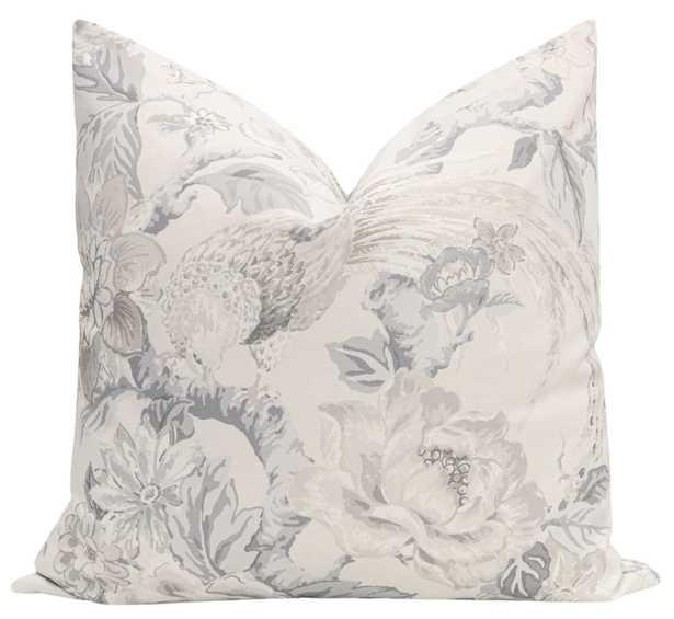 """Floral Aviary Print // Delft - 20"""" X 20"""" - Little Design Company"""