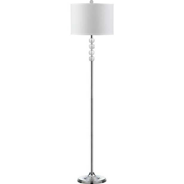 Safavieh Vendome 60.25 in. Clear Floor Lamp - Home Depot