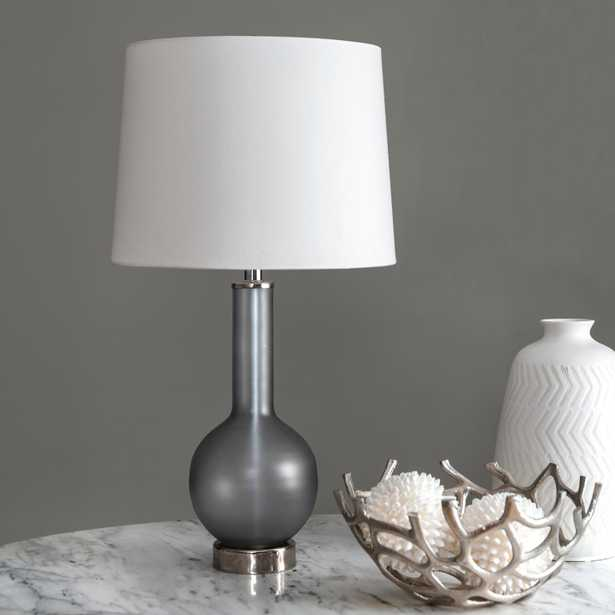 """Dover 26"""" Glass Table Lamp - Loom 23"""