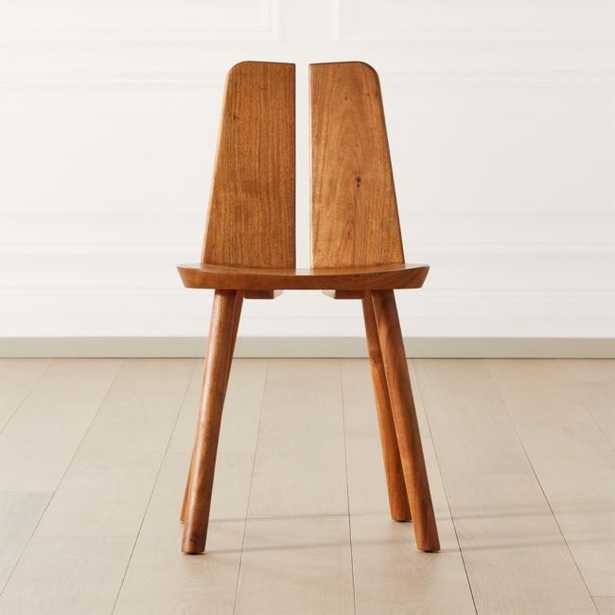Notch Wood Chair - CB2