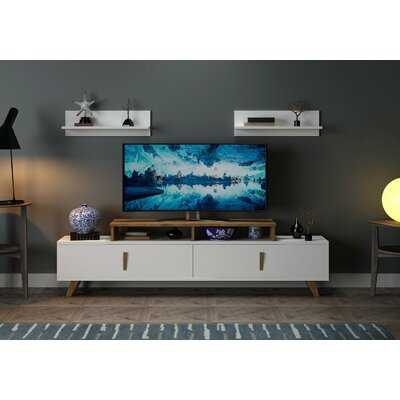 Jacksonwald Cabinet Storage TV Stand for TVs up to 75 inches - Wayfair