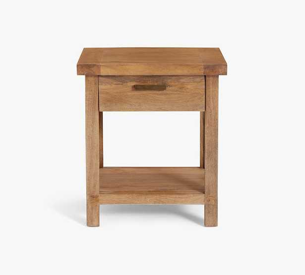 """Reed 19"""" Nightstand, Antique Umber - Pottery Barn"""