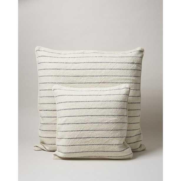 "Farmhouse Pottery Down Striped Pillow Size: Height(26"") x Width(26"") - Perigold"