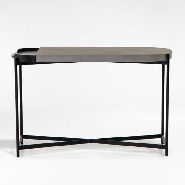 Laurie Grey Console Table - Crate and Barrel