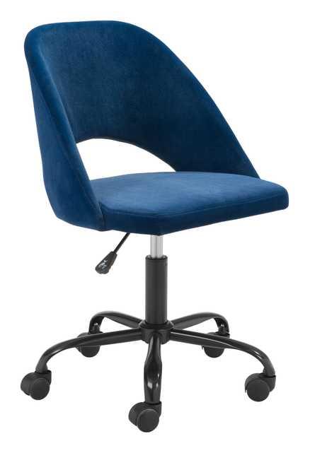 Treibh Office Chair Navy Blue - Zuri Studios