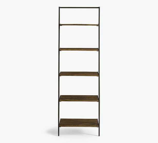 Sanford Ladder Shelf, Cobble Brown Wash - Pottery Barn