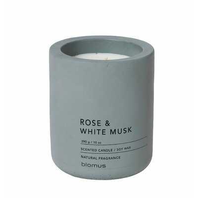 Fragra Rose & White Musk Scented Jar Candle - Birch Lane