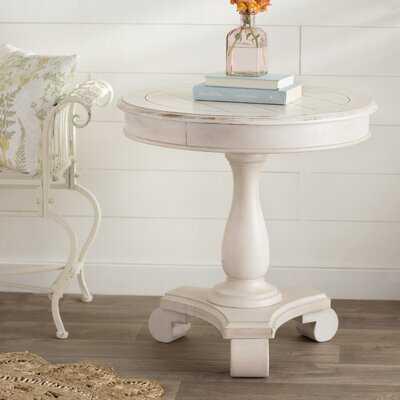 Bezons Pedestal End Table - Wayfair