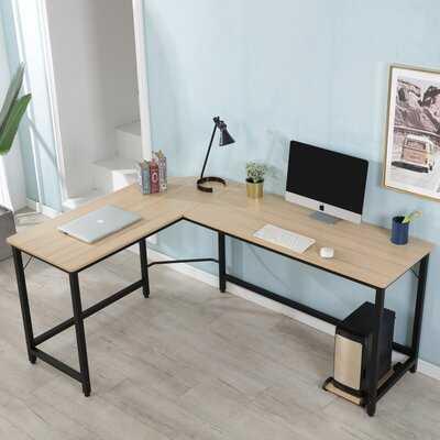Aaleiyah L-Shape Desk - Wayfair