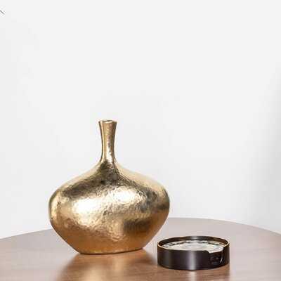 Kuba Dimpled Handmade Ceramic Table Vase - Wayfair
