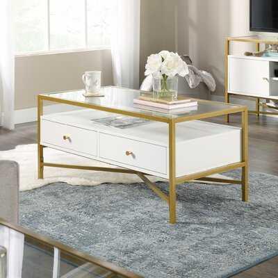 Delacruz Coffee Table with Storage - Wayfair