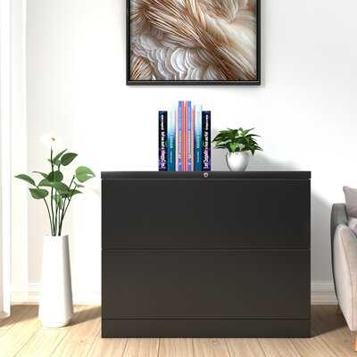 Home Office 2-Drawer Lateral Filing Cabinet - Wayfair